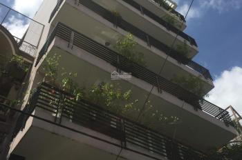 Nhà hẻm 10m, xe hơi đậu trước nhà đường Lê Văn Sỹ, Q. 3. DT: 10x21m, 7 lầu, thang máy, HĐT 200tr/th