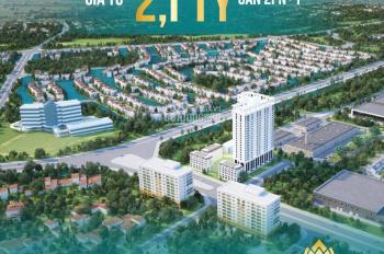 Sở hữu căn hộ cao cấp 91,4m2 ngay gần Aeon Mall Long Biên chỉ với 630 triệu, HTLS 0%, CK 3% giá bán