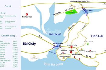 Bán đất nền mặt biển Vịnh Hạ Long giá rẻ, chỉ 7,5 triệu/m2