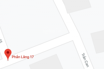 Bán lô đất mặt tiền đường Trần Can vị trí đẹp, phong thủy tốt