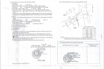 Bán nhà 2 mặt tiền DT 3,9x17,8m thị Trấn Tân Túc, H Bình Chánh, TPHCM, giá 3.8 tỷ