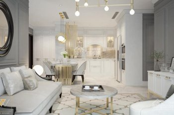 Cho thuê căn hộ Vinhomes Central Park, 4PN 188m2, nội thất Châu Âu. LH 0977771919