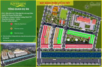 Đất nền hút khách đầu tư dự án Long Châu Riverside, Yên Phong, Bắc Ninh