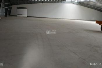 Cho thuê nhà xưởng mặt tiền Quốc lộ 50 gần khu công nghiệp Tân Kim thuộc địa phận huyện Cần Giuộc
