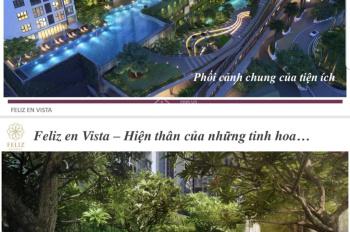 Bán căn Penthouse Duplex Feliz En Vista 334.92m2, view Landmark 81 + Bitexco Q1. LH 0911937898