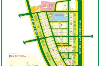 Bán lô đất góc 2 mặt tiền khu dân cư Kim Sơn, phường Tân Phong, Quận 7, DT: 87.5m2, giá: 14.4 tỷ