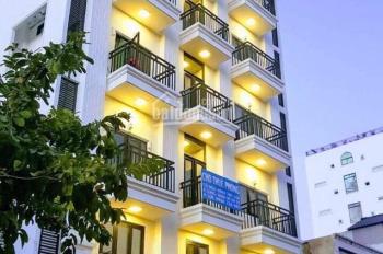 Cho thuê khách sạn 3 sao MT Lê Thánh Tôn, Bến Thành 8x23m 9 tầng 40P 416.52 triệu 0918577188