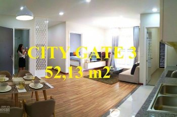 Căn hộ City Gate 3 quận 8 giá rẻ 1 tỷ, 2 phòng ngủ, NBB Garden 0938433995