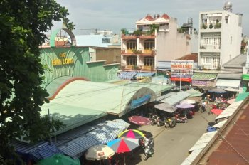 Hot, bán nhà MKTD đối diện chợ Bình Long, 4x17,5m, giá 7.6 tỷ TL