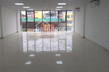 (Giá rẻ) CC cho thuê gấp văn phòng phố Nguyễn Khang, DT 90m2, view đẹp, bảo vệ, free dịch vụ