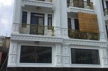Cho thuê nhà 4 lầu, giá rẻ, hẻm lớn đường Nguyễn Văn Trỗi, P.8, Q. Phú Nhuận