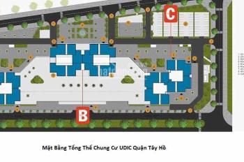 Bán shophouse Udic mặt đường Võ Chí Công, Quận Tây Hồ, giá đầu tư tốt nhất. Liên hệ 0962038311
