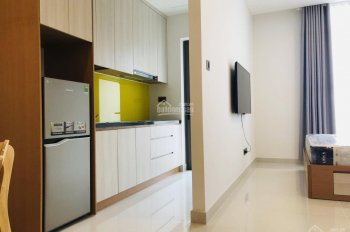 Cho thuê căn hộ 1 phòng ngủ Saigon Royal quận 4 giá rẻ. LH: 0909024895