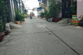 Nhà 4 tấm 1 sẹc hẻm 6m đường Bình Trị Đông, Bình Tân