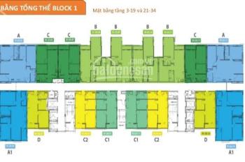 Chuyên căn hộ MT Lý Chiêu Hoàng Quận 6 diện tích 66m2 giá chính chủ chỉ 2tỷ1/2PN. LH 0931336938