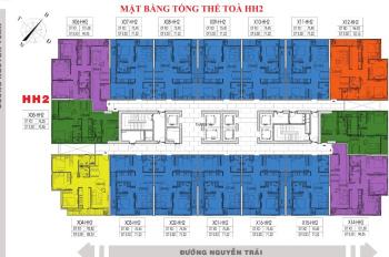 Chính chủ bán gấp chung cư 90 Nguyễn Tuân căn 1503, tòa HH2, dt 71.22m2, giá 28tr/m2, LH 0904516638