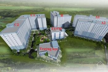 Cần chuyển nhượng căn hộ 55m2, 2PN 1WC, giá 1 tỷ 380tr bao hết thuế phí đường 12 Trường Thọ Thủ Đức