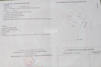 Cần bán gấp lô đất huyên Đồng Phú diện tích 530m2 giá 600tr
