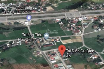 Bán nhanh lô tái định cư Diên An đường 13m, cách Võ Nguyên Giáp chỉ khoảng 100m. LH: 0898.368.999