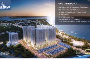 CH Q7 Riverside view Phú Mỹ Hưng mua trực tiếp CĐT chỉ 1.7 tỷ/căn 2PN, CK 3%, trả góp. o915673522