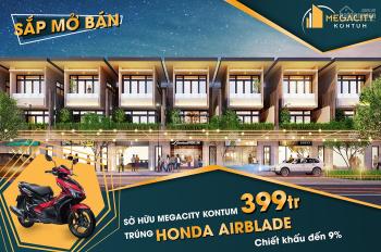 Thông tin chính thức cho dự án Mega City Kontum - đất nền 400tr/180m2 - 0905956613