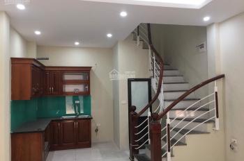 Cho thuê nhà riêng mặt ngõ khu An Hòa, Mỗ Lao 35m2 x 5 tầng, 4PN full đồ NT nhà mới đẹp, 12tr/th