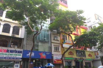 Bán tòa nhà 6T, phố Thái Thịnh, Q. Đống Đa DT 112m2, thang máy, 2mặt thoáng, MT 7m, đang KD, 39,5tỷ