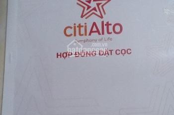 Kẹt tiến bán căn hộ Citi Alto Kiến Á, Quận 2, 52m2, hướng Đông Nam, Block D giá gốc