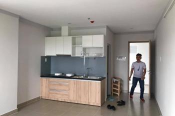 Cho thuê căn hộ chung cư Hiệp Thành 3, có tủ bếp và máy lạnh mới, Bình Dương, 42m2 mới tinh