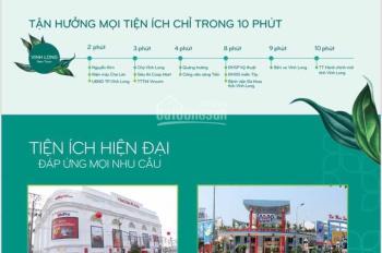 Hưng Thịnh mở bán đất nền sổ đỏ ngay trung tâm TP Vĩnh Long, chỉ từ 9tr/m2, LH: 0931856340