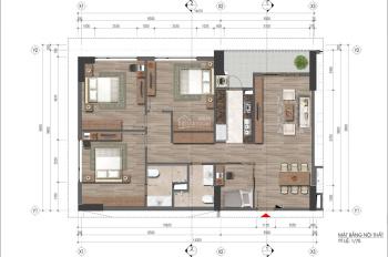 Cần bán gấp căn góc 3PN (121.8 m2), tầng 15, ban công Đông Nam nhìn hồ - Chung cư 43 Phạm Văn Đồng