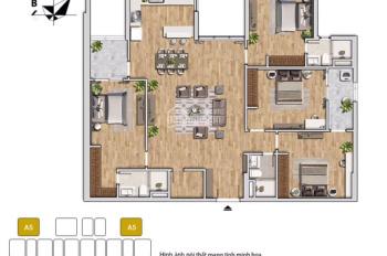 Bán căn hộ 4PN (150m2) liền kề ngay Times City, giá chỉ từ 4.1 tỷ, bàn giao thô. LH: 0962.613.660