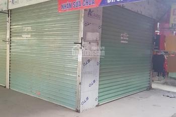 Bán kiot chợ trung tâm thị trấn Phố Mới, Quế Võ, Bắc Ninh, lô góc kiot 2 mặt tiền