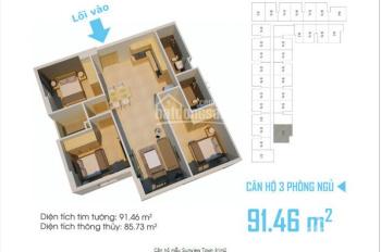 Sunview Town cập nhật hàng mới, hơn 20 căn vị trí đẹp với giá cực tốt, chỉ 1.25 tỷ