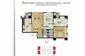 Bán căn số 2 CC MIPEC 229 Tây Sơn, 132m2, căn góc đẹp nhất tòa. LH: 0918 00 5693.