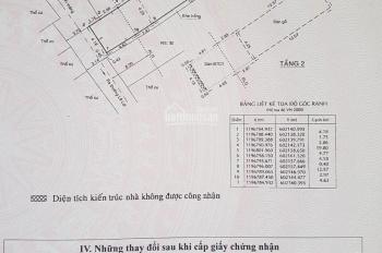 Bán nhà HXH Lê Lợi P4 GV DT: 4,25x25m nở hậu 4,77m, DTCN: 107m2 nhà cấp 3 tiện xây mới theo ý mình