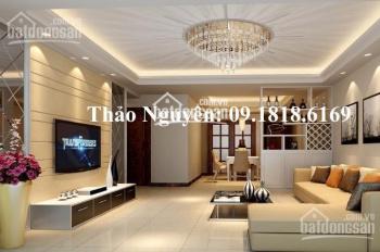 Tôi cần bán 1 căn hộ chung cư Golden Palace DT 118,6m2 - 3N - 2WC nhà Full nội thất giá 29,5 tr/1m2