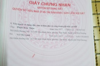 Cần tiền xoay vốn ngân hàng bán 3 lô đất liền nhau trong ngõ 156, Bình Lộc, Phường Tân Bình