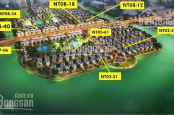 Bán BT song lập khu Ngọc Trai (đảo nhỏ), 165m2 SL, gía tốt nhất thị trường, không chênh