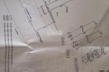 Chính chủ bán gấp nhà nát MT Nguyễn Cư Trinh, Q1. CN: 86,5m2 GPXD: Hầm, 6 lầu giá LH 0967666667