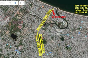 Bán đất đường Lý Thái Tông, Thanh Khê, Đà Nẵng, phù hợp xây khách sạn, nhà nghỉ. LH 0934959798