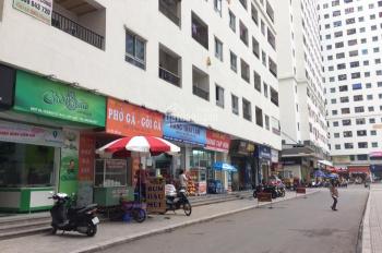 Kiot Linh Đàm giá rẻ, diện tích từ 30m2 40m2 60m2 quay sân chung góc sảnh HH1 HH4 HH2 Linh Đàm