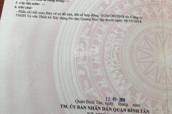 Bán đất khu dân cư Vĩnh Lộc, Bình Hưng Hòa B, Bình Tân, DT: 5x16m, giá 4.2 tỷ, LH: 0908060303
