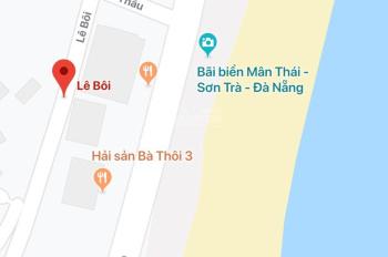 Cho thuê đất 2 MT Hồ Thấu, Lê Bôi, Q. Sơn Trà (Sát biển) 1350m2, giá 140 tr/tháng
