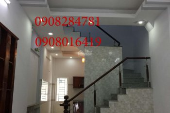 Nhà 1 trệt+2 Lầu DT:4x14 giá 4 tỷ 500tr,đường 38 .Hiệp Bình Chánh ,LH:0908284781-0908016419
