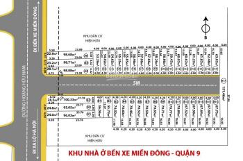 Bán đất 56 - 120m2, đường Hoàng Hữu Nam, Q9, gần BX Miền Đông, SHR, gia 2,8 tỷ/nền, 0906349031