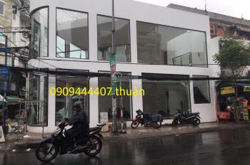Cho thuê nhà ngã tư 2MT Lê Văn Sỹ, quận Phú Nhuận. DT: 12x12m, trệt, 1 lầu, 100tr, LH 0909444407