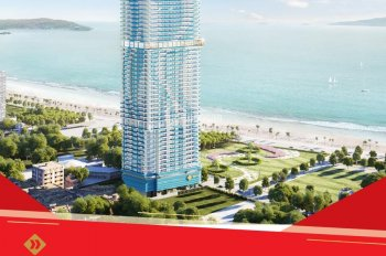 Chỉ từ 612 triệu đồng/căn sở hữu căn hộ nghỉ dưỡng cao nhất TP. Quy Nhơn, tiện ích 5 sao