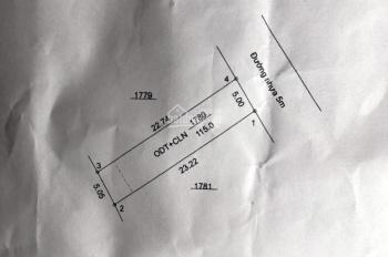 Bán đất Tân Định đối diện Đại Nam ngay chợ Hoàng Gia, giá 1 tỷ 250tr, 110m2, LH: 0913128679