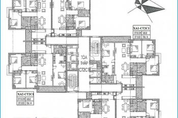 Bán Gấp Căn 19C2 tòa CT2C1 ,diện tích 93,63m2 bên xuân Phương Quốc Hội ,giá 19tr 0912700518